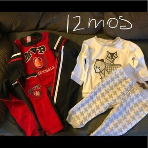 Other - Two 12 Month Baby Boy outfits.
